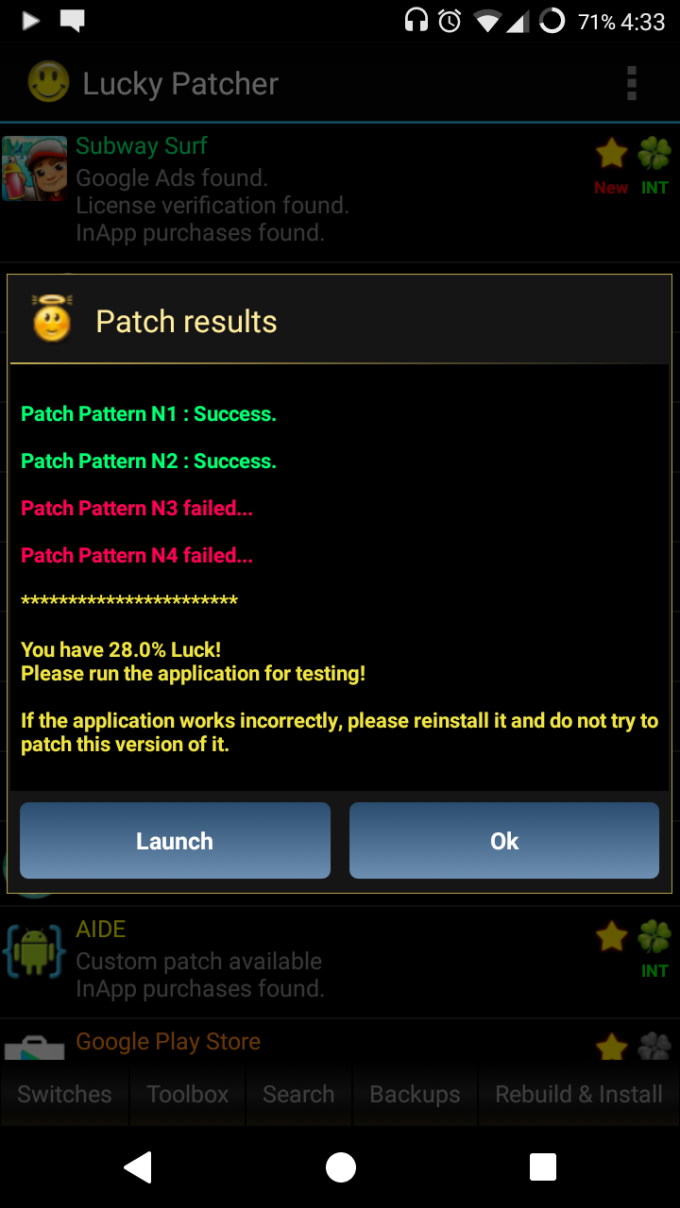 how-to-hack-subway-surfers-using-lucky-patcher-launching-app-patching-result.png